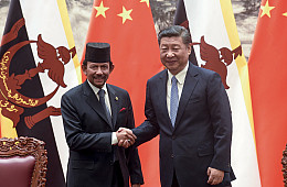 In Brunei, China Woos Rival South China Sea Claimant