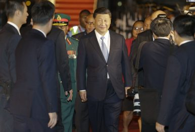 Xi Arrives in Papua New Guinea for First-Ever Visit by a Chinese President
