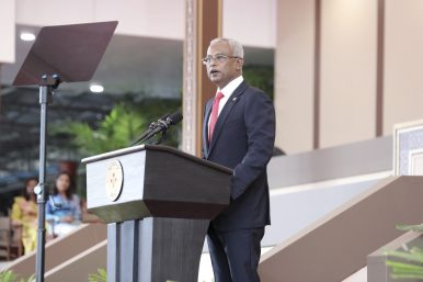 Ibu Solih Is Sworn in as the Maldives' Next President