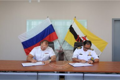 What's in the First Russia-Brunei Navy Dialogue?