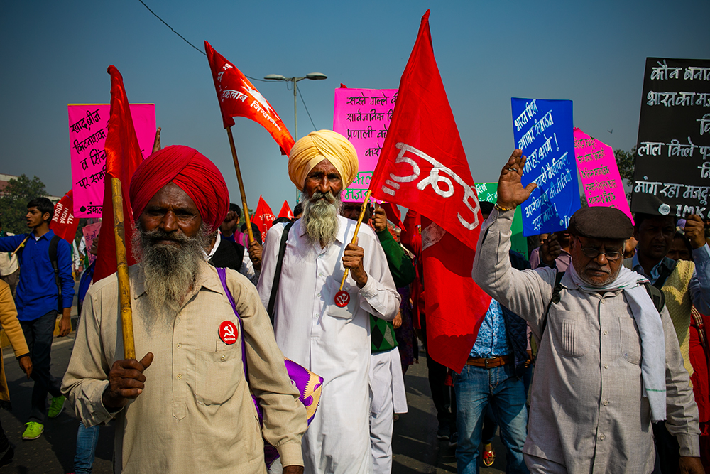 Farmers' Anger Descends on Delhi
