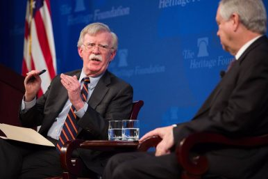Bolton: China Is One Reason US 'Looking at Strengthening National Missile Defense'