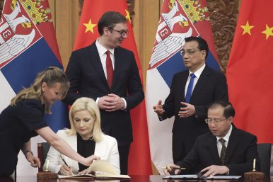 Serbia: China's Open Door to the Balkans