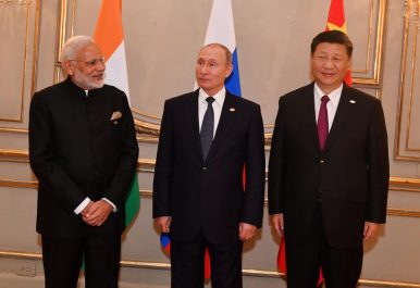 Russia-China-India Trilateral Leaders' Summit Reconvenes at 2018 G20