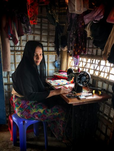 Rohingya Women Stitch Their Lives Back Together