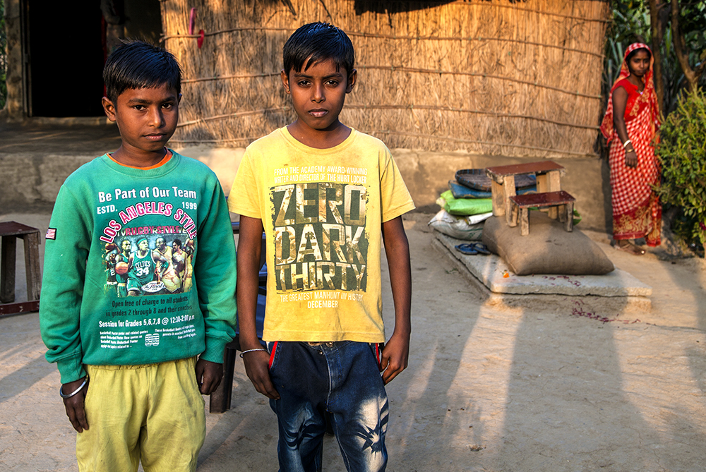 Life in a Refugee Colony in India