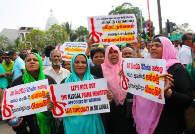 How Sri Lankans Are Resisting Rajapaksa's Soft Coup Attempt