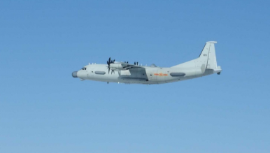 Japan Scrambles Fighter Jets to Intercept Chinese Y-9JB Aircraft Over East China Sea