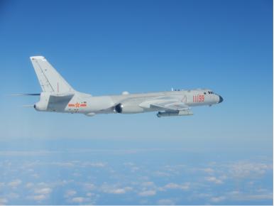 China Holds Long-Range Air Combat Drill Near Taiwan
