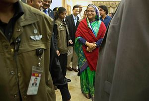 Global Support Lets Bangladesh Prime Minister Withstand Election Concerns