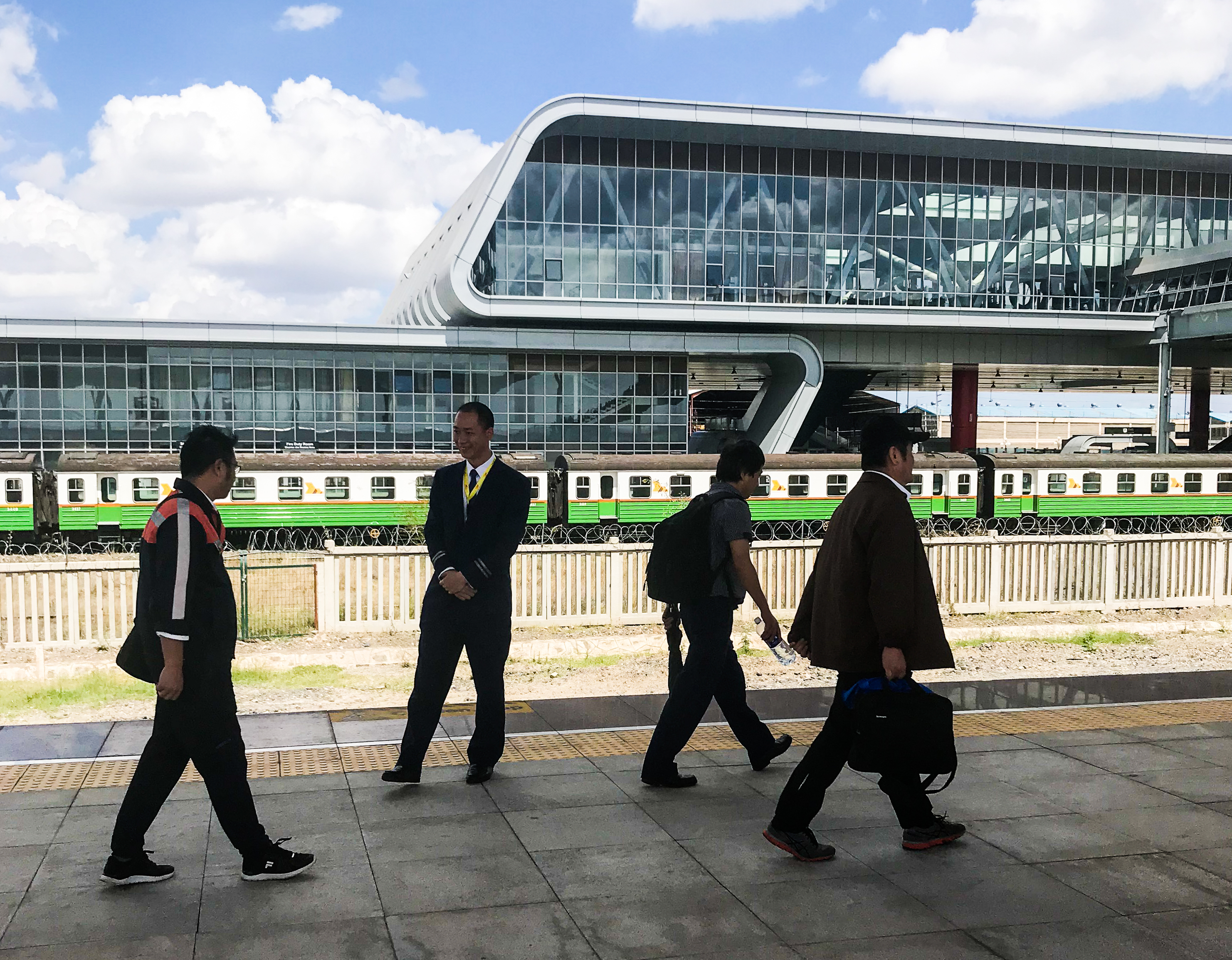 The Chinese Railways Remolding East Africa