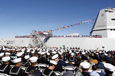 US Navy Commissions Latest Zumwalt-Class Destroyer
