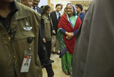 Global Support Lets Bangladesh Prime Minister Withstand Election Concerns