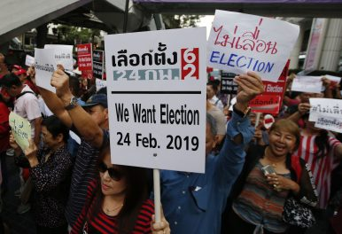 Is Thailand's Election Going to Be Delayed Yet Again?