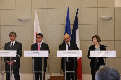 France, Japan Look to Increase Indo-Pacific Maritime Cooperation
