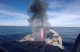 Australia's New Air Warfare Destroyer Completes Weapons, Systems Evaluation