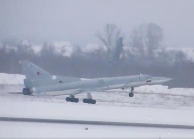 Russia's Upgraded Tu-22M3M Long-Range Bomber Makes Maiden Flight