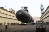 US Shipbuilder Launches New <i>Virginia</i>-Class Nuclear-Powered Attack Submarine