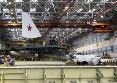 Russia's Air Force to Take Delivery of First Serially Produced Tu-160M2 Bomber in 2021