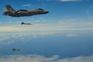 F-35B Stealth Fighters Drop Smart Bombs Over Philippine and East China Seas in Drill