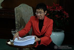 Philippine Journalist Maria Ressa Awarded 2021 Nobel Peace Prize