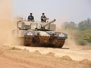 Indian Army Accepts Arjun MK1-A Main Battle Tank for Service