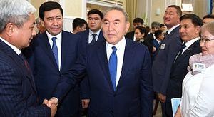 Nazarbayev Fired the Kazakh Government