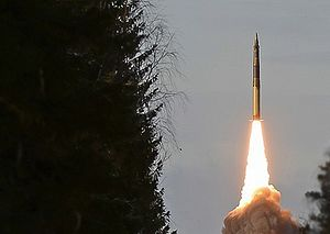 Russia's Strategic Rocket Forces Test Launch Nuclear-Capable RS-24 Yars ICBM