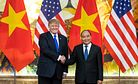 Before Meeting Kim, Trump Oversees Trade Deals With Vietnam