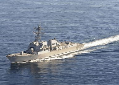 US Warships Conduct Freedom of Navigation Operation Near Mischief Reef
