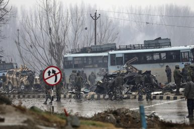 Car Bomb Kills Over 30 Indian Soldiers in Kashmir