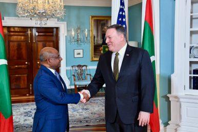 Top US, Maldives Diplomats Meet in Washington