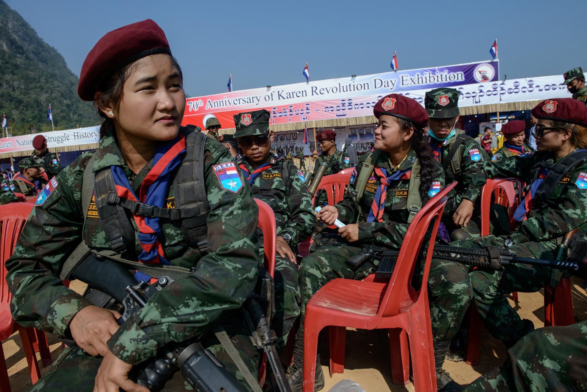 Marking 70 Years of War in Myanmar