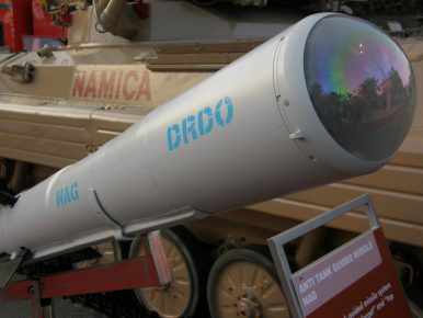 India Successfully Test Fires Indigenous Anti-Tank Guided Missile