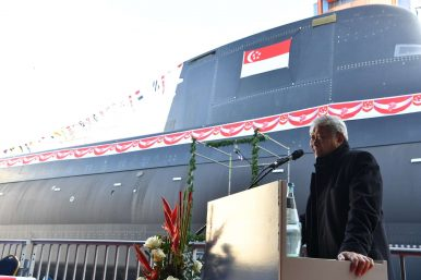 What's in Singapore's First New Attack Submarine Launch?