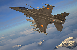 Lockheed Martin Offers India Upgraded F-16 Fighter Jet