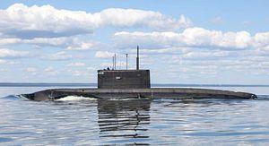 Shipbuilder Launches New Attack Sub for Russia's Pacific Fleet