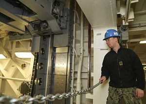USS Gerald R. Ford Accepts Second Advanced Weapons Elevator