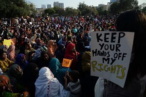 Pakistan's Women Marched for Their Rights. Then the Backlash Came.