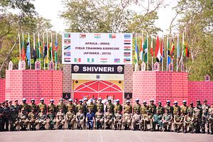 A First: India Begins Military Exercises With 17 African Countries