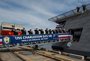 US Navy Commissions New Independence-Class Littoral Combat Ship
