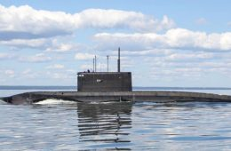 Shipbuilder Launches New Attack Sub for Russia's Pacific Fleet