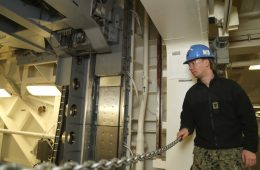 USS <i>Gerald R. Ford</i> Accepts Second Advanced Weapons Elevator