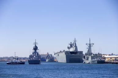 Royal Australian Navy Task Group Arrives in Sri Lanka for Indo-Pacific Endeavor 2019 Exercises