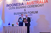 Indonesia and Australia Ink Free Trade Agreement