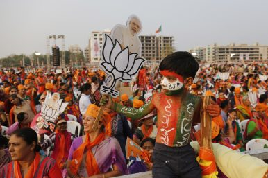 At Indian General Election Rallies, Modi Beats the Nuclear Drums