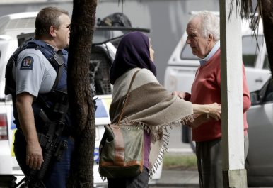 Mass Shootings at New Zealand Mosques Kill 49; 1 Man Charged