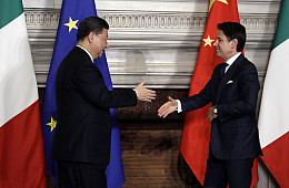China's Bid for the Heart and Soul of Italy