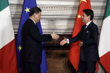 China-Italy Relations:The BRI Effect