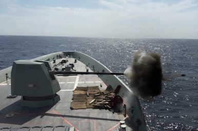 Australia's Second Air Warfare Destroyer Completes Weapons Trials